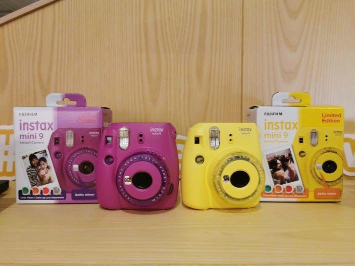 除了 mini LiPlay外,Fujifilm 同時推出 mini 9 兩種新色。