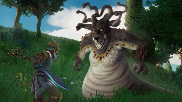 各種神話怪獸將會於遊戲登場。