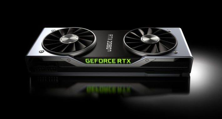 仿如煤氣爐設計的 NVIDIA RTX 顯示卡。