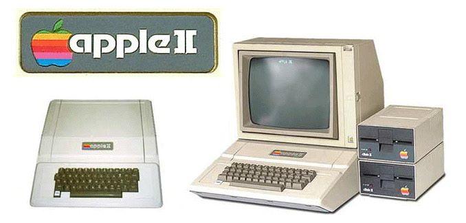 Apple II 就是採用彩虹蘋果標誌的