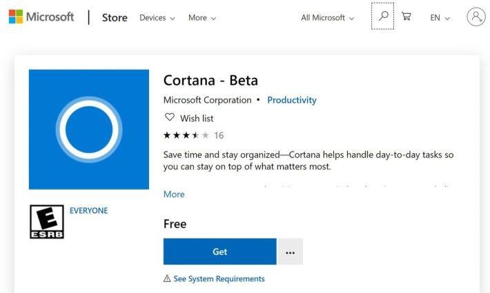 Cortana 新功能將透過更新,中 Cortana 軟件陸續增加。