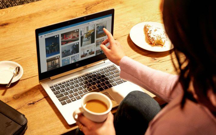 EliteBook 800 G6 系列亦配備有 10 點觸控屏幕。