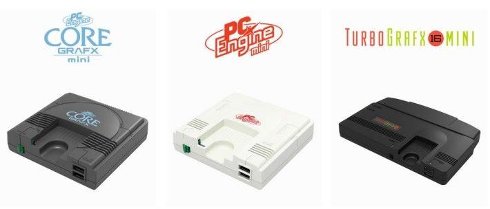 在日本 Amazon 可以訂購齊三款 PC Engine mini 遊戲機,在 Prime day 訂購還有特典。