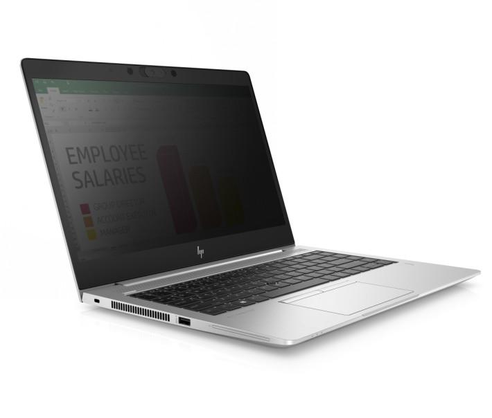 啟用 HP SURE VIEW 阻擋其他使用者周圍觀看到屏幕用容。