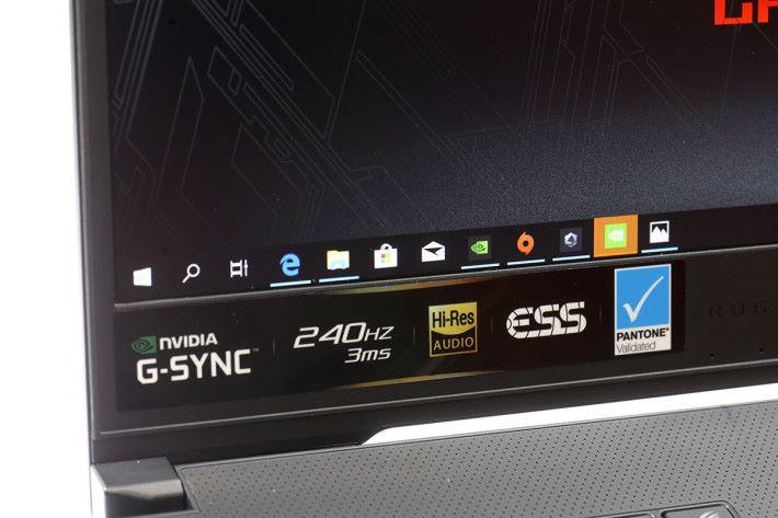 除了屏幕厲害之外,主機亦獲得 Hi-Res Audio 及 ESS 聲效認證,打機時畫面聲音同樣震撼。