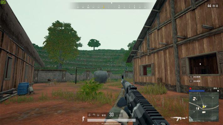透過《Game Visual》軟件可修正畫面的色彩,玩槍 Game 殺敵更容易。