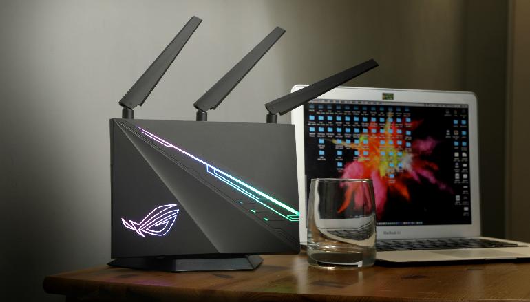 漸變色RGB 平價電競Router ASUS ROG Rapture GT-AC2900 開箱實測