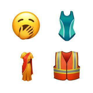 新增的表情和服飾
