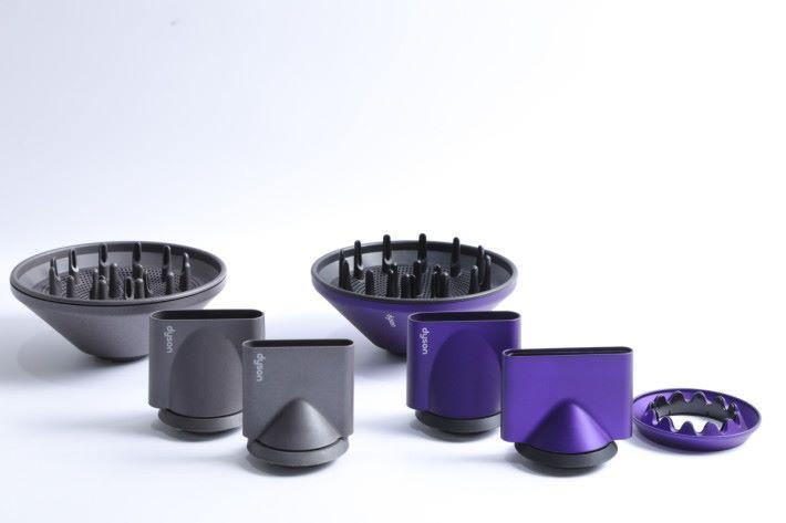 HD03 配備 4 組風嘴能滿足吹乾和造型的不同需要。