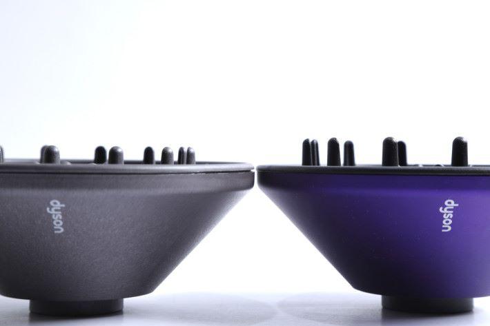 擴散風嘴能夠更均勻地分散氣流,讓曲髮造型具層次更鮮明。