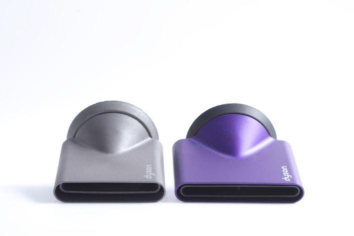 新造型集風嘴較前一代相比更寬更扁平,這樣的設計可以產生更寬、更集中的氣流。