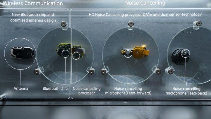 .WF-1000X 的構造複雜,而大部分元件都用新設計,天線保份也刻意加強。