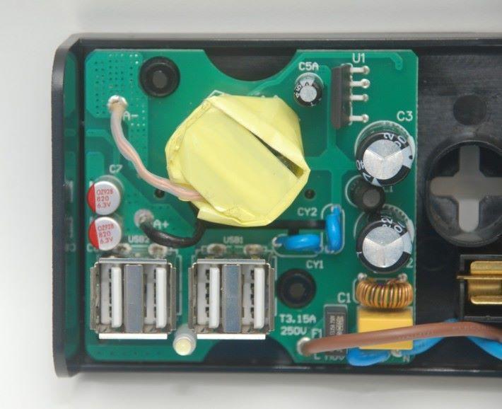 USB獨立的供電電路