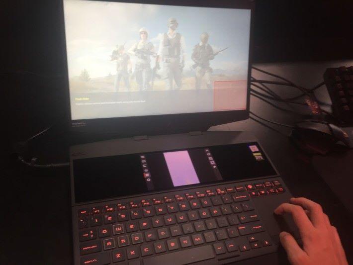 開啟功能後就會要求玩家於畫面圈取所需範圍。