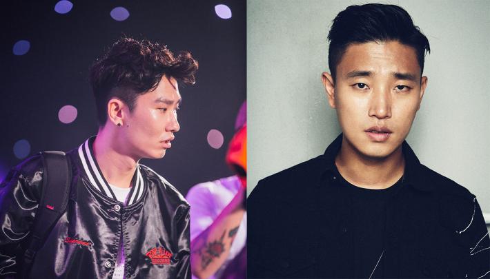 韓國知名偶像 Spray(左)與 Gary(姜熙建) 專程來港為大家表演。