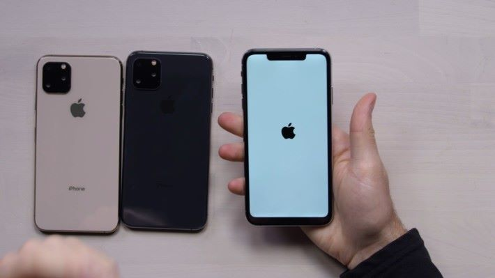 山寨 iPhone 11 一樣有蘋果開機畫面