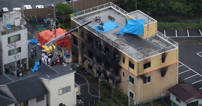 日前京都動畫社長八田英明日前表示,正考慮將現場大樓拆卸改建為公園,並立碑悼念死者。