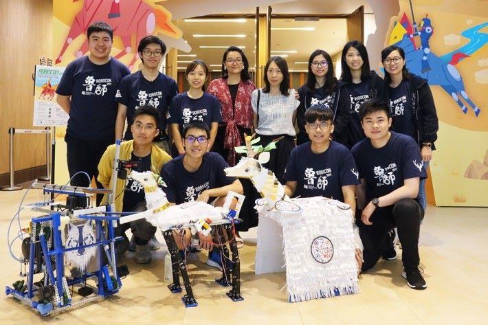 香港教育大學首次參賽,一眾學生期望能藉此了解 STEM 發展。