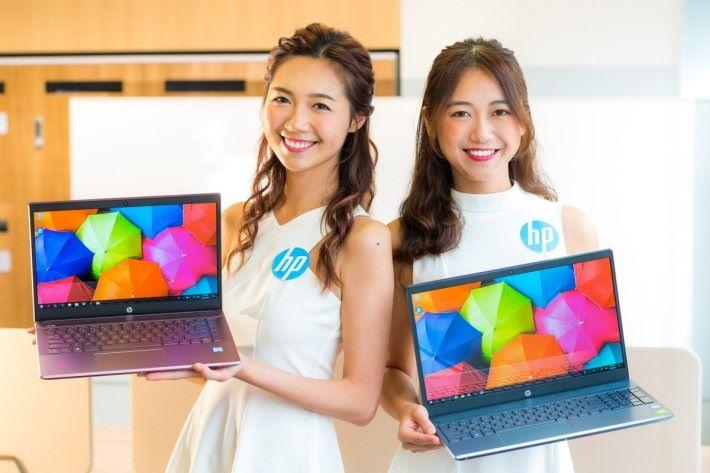全新HP Pavilion系列備有多款顏色選擇,採用鍵盤襯托機身顏色的雙色設計,迎合用家的不同風格和喜好