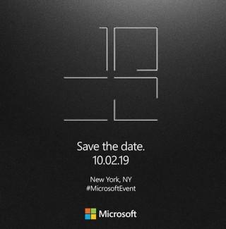 Microsoft 向傳媒發出的邀請函