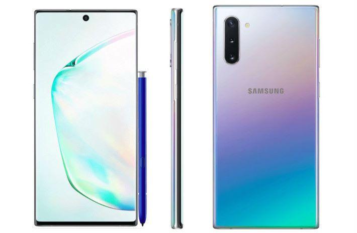 Samsung Galaxy Note 10 被洩露的資料實在太多了吧⋯⋯