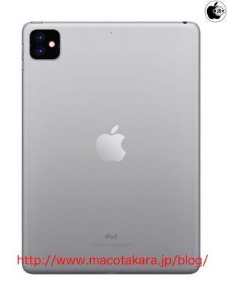 連普通的 iPad 都會有雙鏡頭的話,會是 iPad 的一大突破,不過到時又會售多少錢呢?(來源: Macotakara )