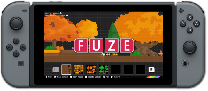 用 F4NS 製作的遊戲可以分享給其他 Nintendo Switch 用家遊玩。
