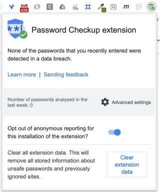 插件最近新增了選項,讓用戶可以拒絕提供匿名資料給 Google