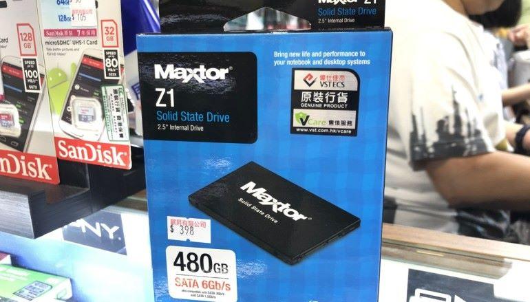 【場料】8 月鬼門關大開!老牌 Maxtor 出 SSD ?