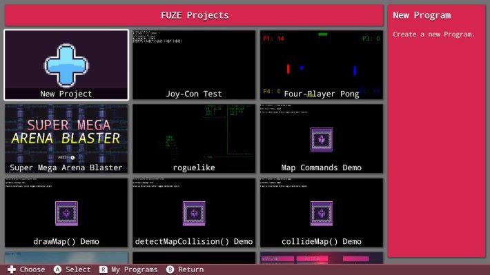 F4NS 裡有很多示範遊戲讓大家學習如何製作一個遊戲