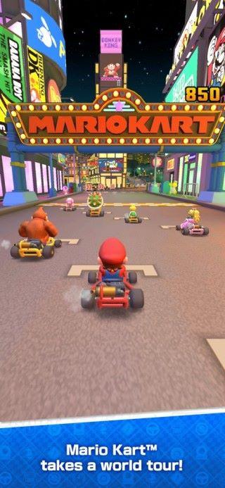 賽道取自過去多集遊戲,而且有經典的瑪利奧賽車音樂配襯。