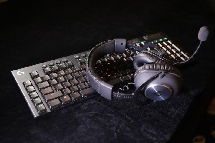 G913 LIGHTSPEED 無線鍵盤 & G Pro X 遊戲耳機
