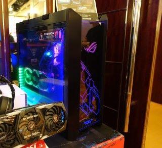 漢科聯同三間店家推出 ROG 砌機優惠。