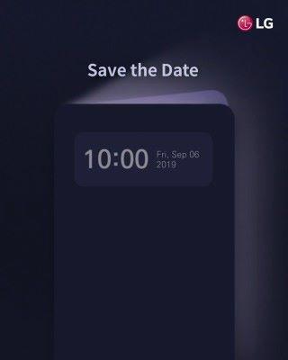 動畫最後的日期指出更多資料將在 9 月 6 日 IFA 2019 的 LG 發表會上公布