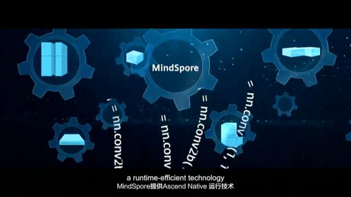 MindSpore聲稱程式碼較少,運行更快,並配合昇騰晶片運行。