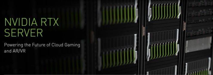 NVIDIA RTX Server 讓電訊商可以向用戶提供超高畫質而底時延的串流遊戲服務。