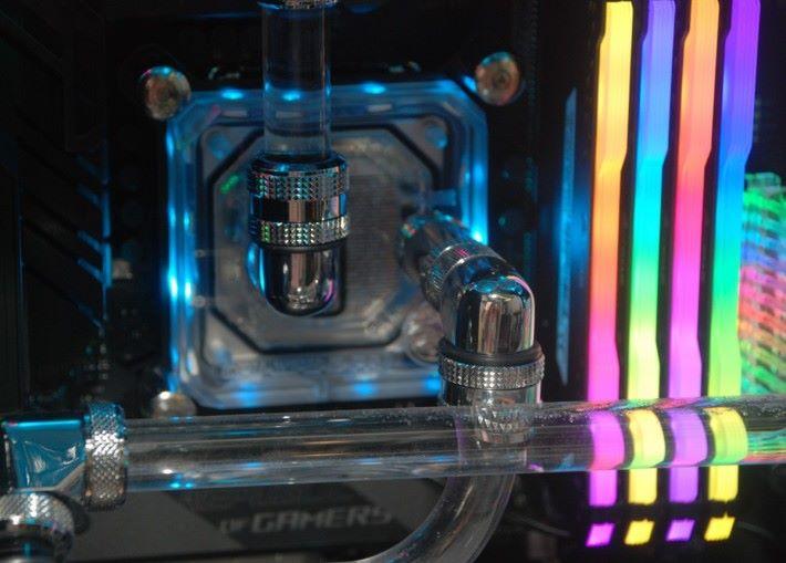 CPU 的 WaterBlock
