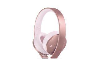 玫瑰金 PS4 無線耳機