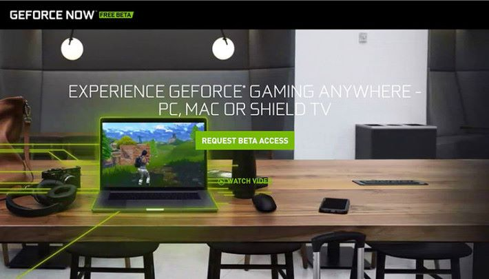 GeForce NOW 透過高性能專用伺服器,讓玩家不需要高性能電腦,仍可以玩到高水準遊戲。而且由於遊戲是從 Steam 、 UPlay 、Battle.net 等平台購買,即使日後玩家不再用 GFN 、仍可下載遊戲安裝在電腦上遊玩。而開發商也可省去移植、支持營運的成本。