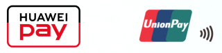 只要於貼有 Huawei Pay 或 UnionPay 標誌的商店便可用到 Huawei Pay。