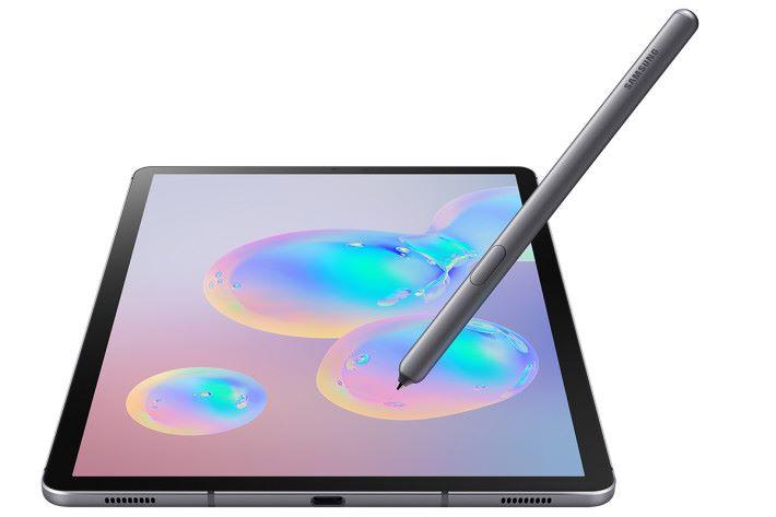 今次 Galaxy Tab S6 的 S Pen 更升級至像 Note 9 一樣有藍牙去操控不同功能。