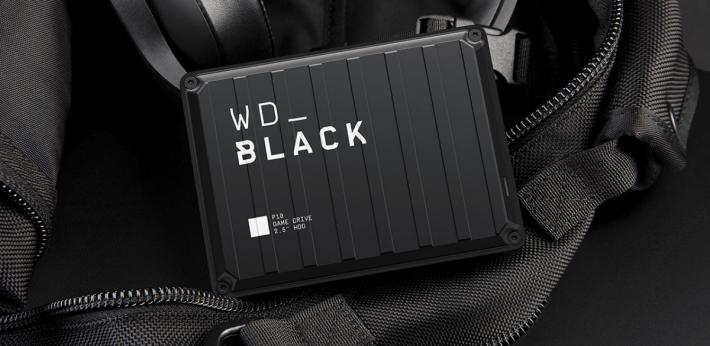 WD_BLACK P10 的設計太令人心動,即使甚少玩遊戲,都想拿來儲存普通檔案。