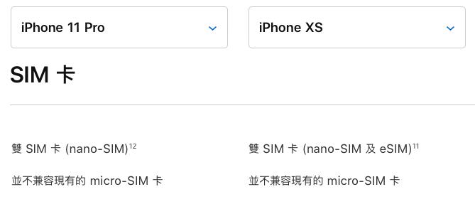 終於全系列的 iPhone 支援真雙卡了。