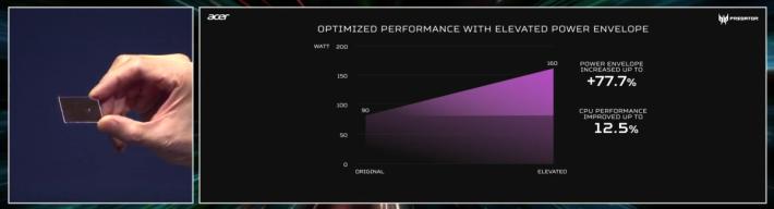 CPU 效能可提高 12.5%