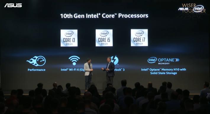 亦將提供 i3 及 i5 Ice Lake CPU 之版本,又可選擇搭配 Intel Optane Memory。