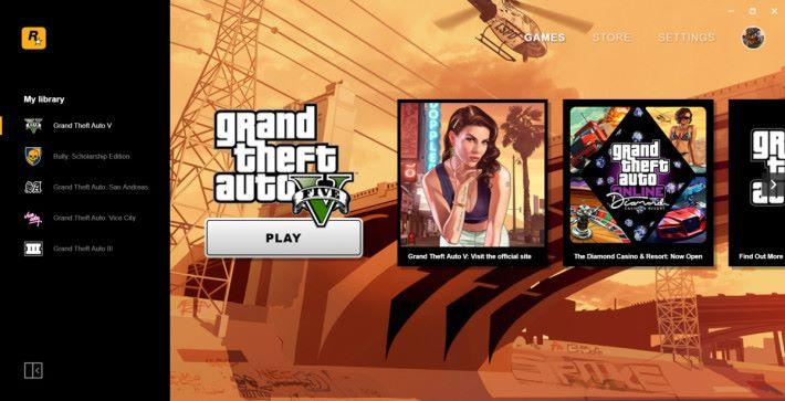 因應平台的推出,基本上 PC 版《 GTA V 》的玩家都被迫搬至該平台使用。
