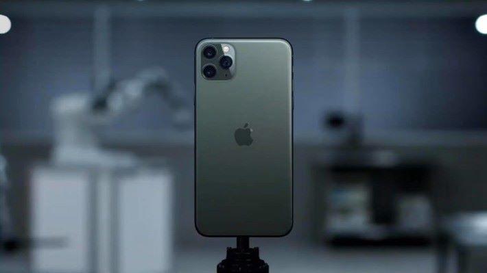 採用三鏡頭的 iPhone 11 Pro 登場