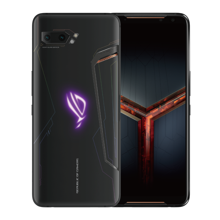極致版 ROG Phone II 除了變成1TB ROM 之阱,玻璃機背設計變成霧面風格。