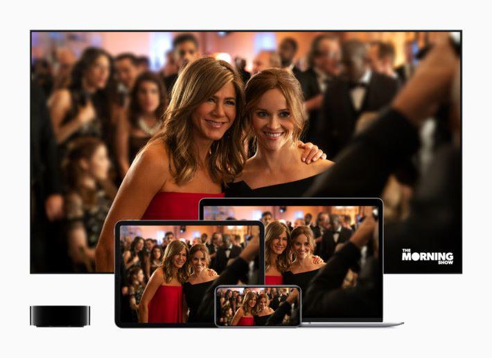 用戶可以跨平台欣賞劇集
