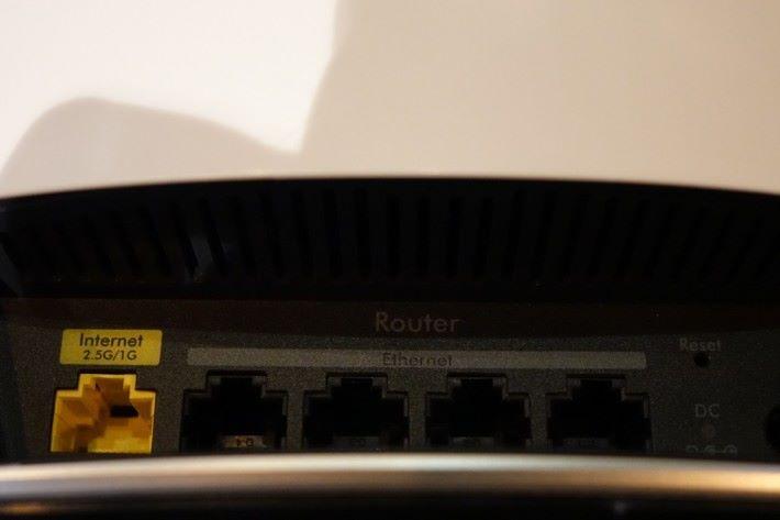 Router Node 具備 2.5G WAN 埠